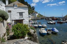 Harbour Cottage, Polperro, Cornwall, England
