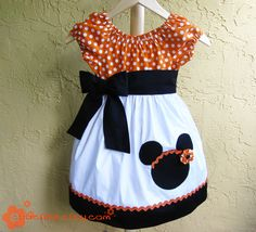 minnie dress for kylie for our trip to dw next yr