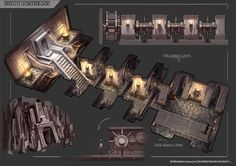 Egypt Dungeon Design 2 by syncUP on DeviantArt