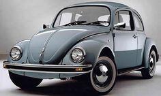 Volkswagen Kever, met kattenbak achterin .... gewilde zitplaats!