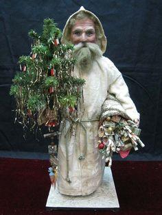 Antique German Santa Candy Container // photo via web...
