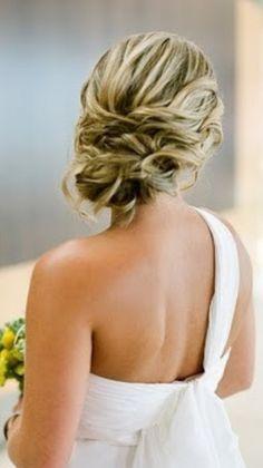Wedding hair  Up do Formal  Bridal