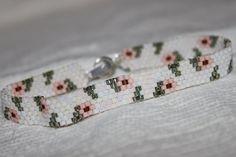 HANDMADE DELICA glass beads miyuki peyote by planstoprosper, $20.00