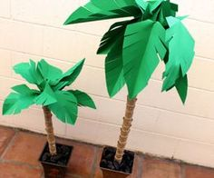 How to Make a Paper Palm Tree