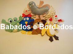 Babados & Bordados: Turma da Galinha pintadinha (miniaturas)