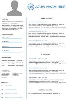 Curriculum vitae (cv) template Resume Cv, Creative Resume Templates, Cv Template, Curriculum, Coaching, Training, Modern, Resume, Resume