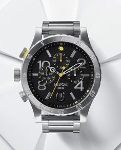 #Nixon: Just Right, Introducing The 48-20 Chrono, New from Nixon