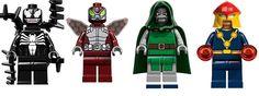 Lego Venom, Dr. Doom & Co.