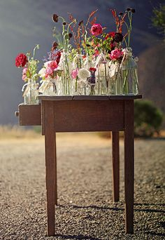 vase collection by the style files, via Flickr of Danielle de Lange - this is such an inspirational picture - I love it