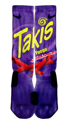 """Takis"" Custom Nike Elite Socks"