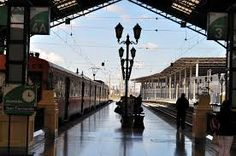 Estacion central. Santiago de Chile Train, Places, Santiago, Bicycle Kick, Parking Lot, Photos, Lugares