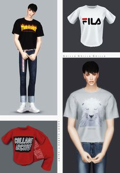 Short Sleeve T-Shirt for The Sims 4 Sims 4 Cas, My Sims, Sims Cc, Sims 4 Men Clothing, Sims 4 Male Clothes, Male Clothing, Men Clothes, Male T Shirt, Sims4 Clothes