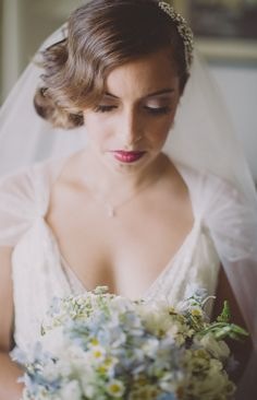 1930s style bride. Photography By / http://joshuamikhaiel.com