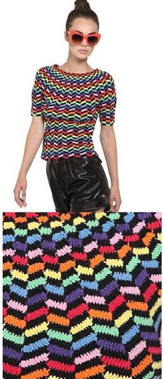 Helen Rodel crochet top