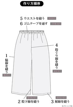 ★여성패턴★ 와이드 팬츠 S/M/L 사이즈(만드는 법 포함) : 네이버 블로그 Sewing Patterns, Womens Fashion, Pants, Clothes, Quilting, Dressmaking, Trouser Pants, Outfits, Clothing