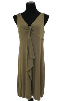 Tommy Bahama Dark Tan Sleeveless Swimsuit Cover Dress Size L