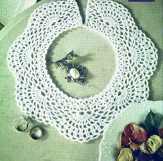 9 easy crocheted collar patterns free | DIY 100 Ideas