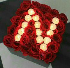 Image about love in regalos miren by Wallpaper Rosa, Flower Wallpaper, Black Wallpaper, Cute Letters, Flower Letters, Flowers Roses Bouquet, Red Roses, Romantic Ideas For Him, Happy Feast