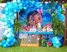 Moana Birthday Party Theme, Luau Theme Party, Moana Themed Party, Moana Party, Luau Birthday, Birthday Parties, Superhero Party Decorations, Balloon Decorations Party, Birthday Party Decorations