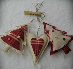 Cute Homemade Ornaments.....