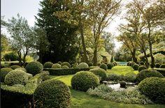 Jardin de Betty et François Catroux (photo François Halard)