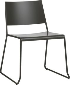 broad dining chair  | CB2