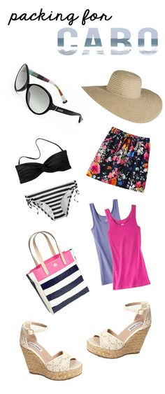Packing for our honeymoon in Cabo San Lucas, Mexico! Mexico Vacation Outfits, Outfits For Mexico, Vacation Style, Vacation Trips, Cabo San Lucas Mexico, Living At Home, Mexico Travel, Packing, Spring Break
