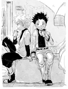 GUYS TODAY WAS THE OFFICIAL DAY THAT HXH RETURNS IM PRETTY SURE THATS SOMETHING TO CELEBRATE