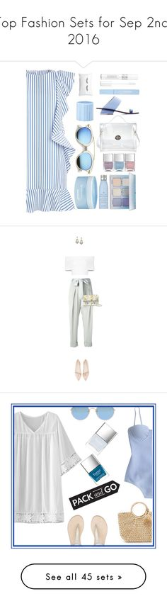 """Top Fashion Sets for Sep 2nd, 2016"" by polyvore ❤ liked on Polyvore featuring Nails Inc., Anastasia Beverly Hills, Drybar, Abcense, Aveda, Christian Dior, ZeroUV, men's fashion, menswear and Packandgo"