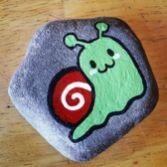 Creative diy painting rock for valentine decoration ideas 37