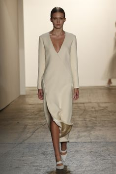 Wes Gordon RTW Spring 2015 [Photo by George Chinsee]