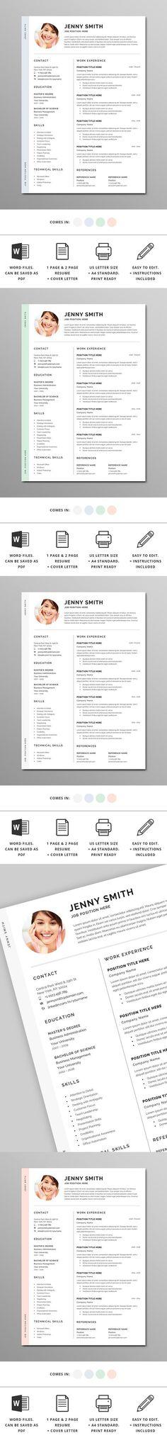 CV  Resume Bianca CV  Resume Design Pinterest