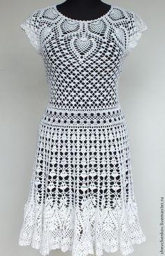 Вязание ручной работы. Заказать Вяжем сами платье
