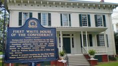 """Southern Heirlooms """"The First White House of the Confederacy"""""""