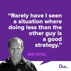 Doing Less Than the Other Guy – Jimmy Spithill