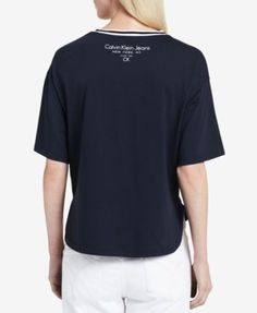Calvin Klein Jeans Logo Graphic T-Shirt - White XL