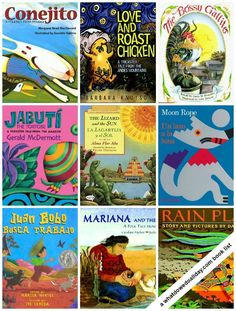 14 Latin American folktale picture books. Perfect for Hispanic Heritage Month: Sept 15 - Oct 15
