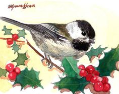ACEO Limited Edition 2/25- Jingle bird