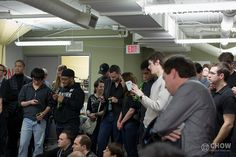 Do you think they are tweeting to win some awesome DevTO prizes?     DevTO #21 - February 25, 2013 by Chow Productions Inc., via Flickr