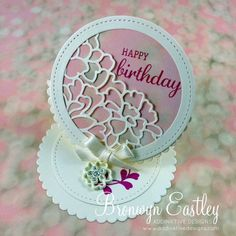 Easel Card for Step It Up Challenge by BronJ - Cards and Paper Crafts at Splitcoaststampers