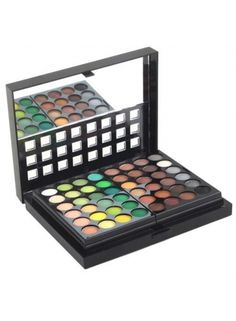 Pro 96 Full Color Eyeshadow Palette Eye Shadow Brush-bought this over the holiday and I like most of the colors.