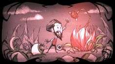Wilson / Lure Plant | Don't Starve
