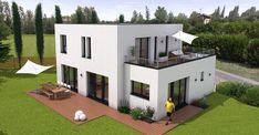 Maison haut de gamme toit terrasse 1