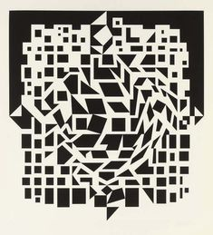 Victor Vasarely – Citra, from NB Cinetique