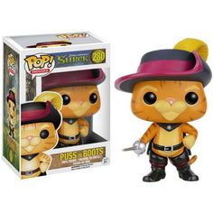 Funko POP 5547 POP Movies: Shrek, Puss In Boots, Multicolor