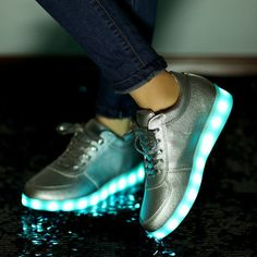 bf471809a7 Led shoes for adults 2016 fashion led light shoes woman casual shoes led  luminous. Tênis LedUnissexSapatosMercado LivreBrasilEstilo ...