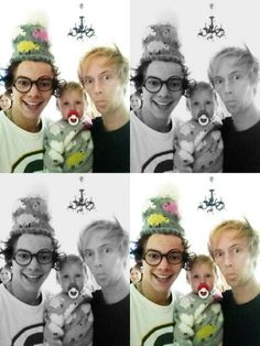 Harry with Tom and Lux