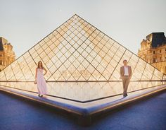 at the Louvre! I'd seriously love to get married at an art museum.