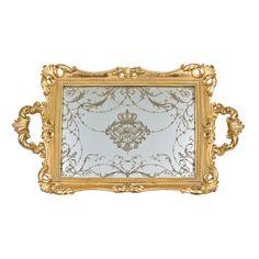 #Chic déco --  Zara Home - Mirror Tray
