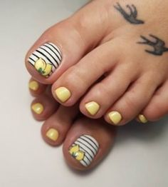 So, let your toes also do the talking with some bright, cute, funky and beautiful toenail designs that accompany the summers just like magic.